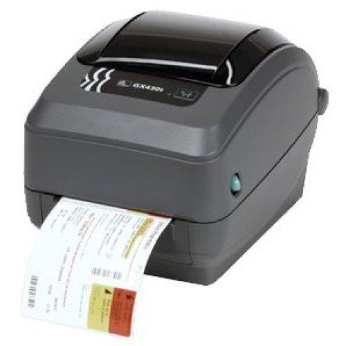 Zebra Gx430T Direct Thermal/Thermal Transfer Printer Monochrome Desktop Lab GX43-102522-000