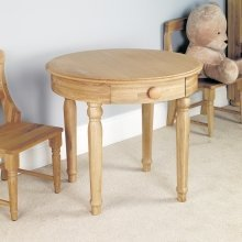Amelia Oak Childrens Play Table