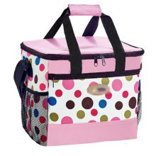 Outdoor Picnic Bag Large Soft Cooler Insulated Picnic Lunch  Bag for Grocery, Camping, Car, #G