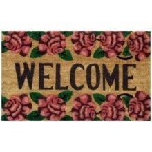 Roses Welcome Doormat