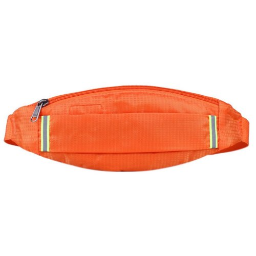 Outdoor Sports And Leisure Large Capacity Fashion Waist Bags, Orange
