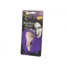 Pvc Witches Nose With Elastic Strap -  halloween trick treat fancy dress witches nose warts face accessory 3 x