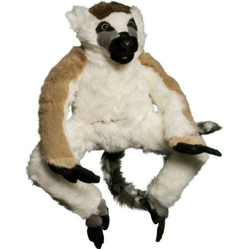 Sunny Toys NP8068M 15 In. Lemur - Ring Tail, Animal Puppet