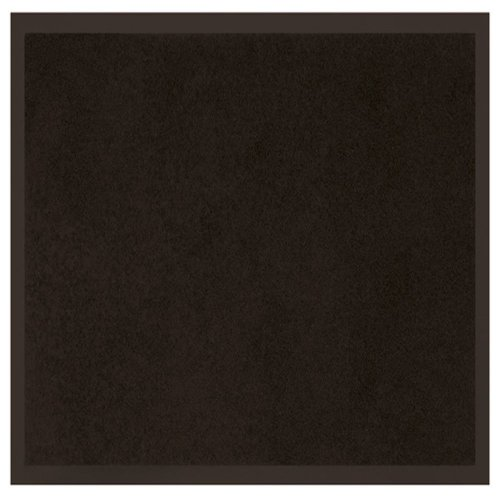 Tapis Deco Anti DUST Doormat 60X80 UNI Noir, Fabric, Black