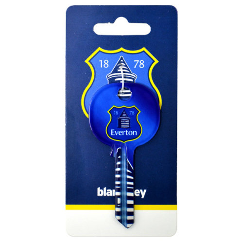 Everton Key Blank (the People's Club) - Door Fc Football Club Crest Official -  door key everton fc football club crest official blank gift new