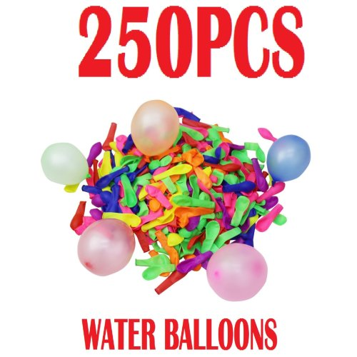 250 Water Bombs Balloons Summer Fun Soakers Party Outdoor Garden