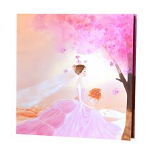 Wedding Photo Book Album with Self Adhesive Pages