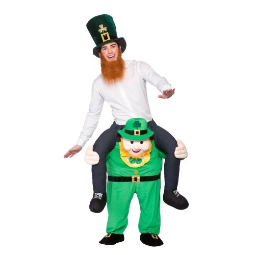Carry Me St. Patrick's Day Irish Leprechaun Fancy Dress Costume