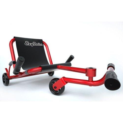 Ezy Roller Classic Kids Snake Drive No Pedal Adjustable Steel Frame Trike Kart