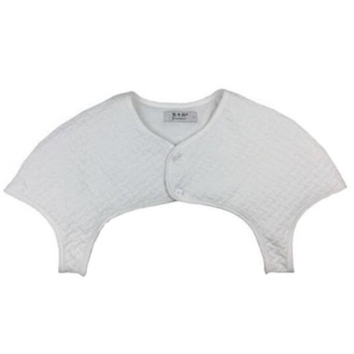 Shoulder Support Unisex Thick Cotton Shoulder Warmers Clothing Shrugs XXL Size(White)