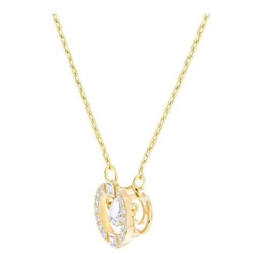 Swarovski Sparkling Dance Round Necklace - 5284186