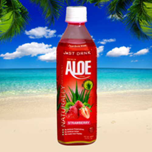 Just Drink Aloe Just Drink Aloe Strawberry 500ml
