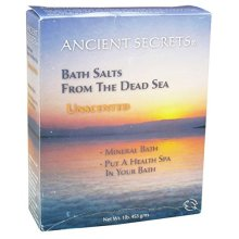 Ancient Secrets Dead Sea Aromatherapy Bath Salts 1 lb Box