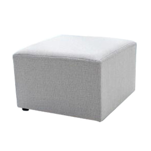 Fashionable Square Cloth Modern Small Stool Table Stool Sofa Pier Ottoman Stool, D
