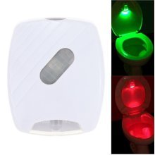 8 Colors Toilet Night Light Auto-Sensing LED Seat Lamp Motion Toilet Home Bathroom Red&Green Light