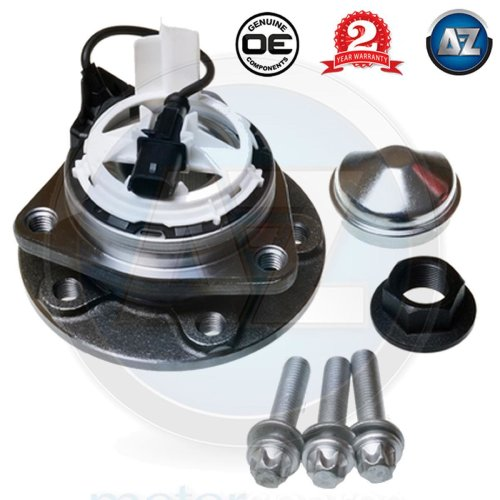 For Fiat Opel Saab 9-3 Vauxhall Vectra C Black Plug Front Wheel Bearing Hub Kit