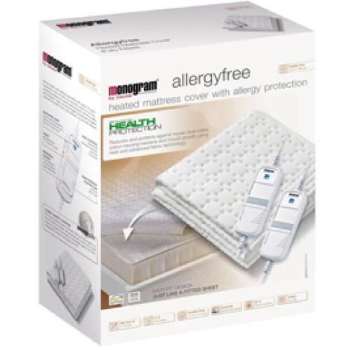 Monogram 369.60 Heated Mattress Cover, Allergy Free, Single