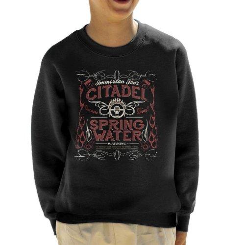 Immortan Joes Citadel Spring Water Mad Max Kid's Sweatshirt