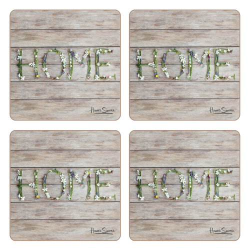 iStyle Country Home Set of 4 Coasters