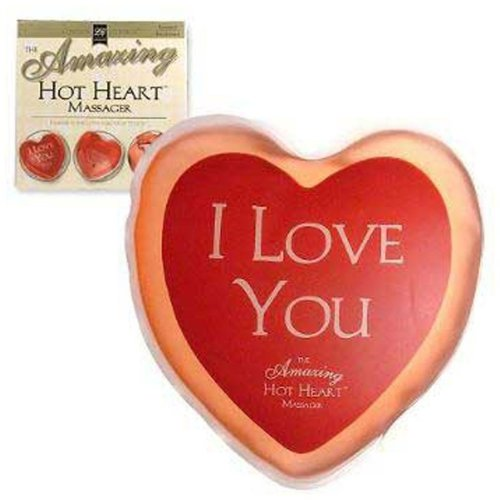 The Amazing Hot Massager Heart Kit: I LOVE YOU by Lover's Choice
