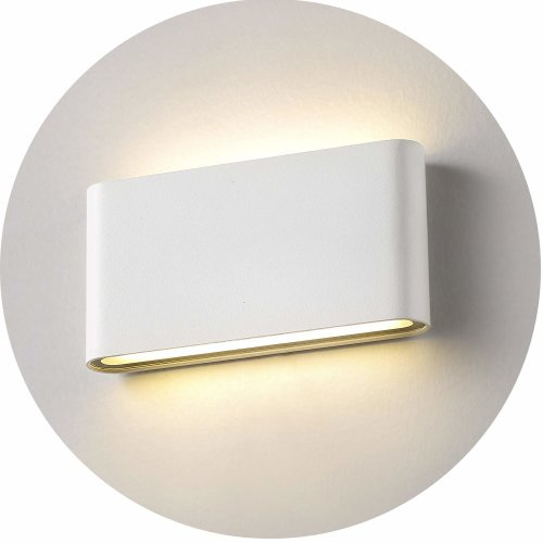 Topmo-plus 12W LED Wall Lamp Waterproof IP65 Aluminum slim Wall Lighting LED Indoor Outdoor Lights Wall Wash Lights livingroom garden corridor...