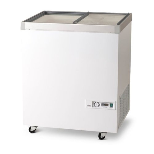 Vestfrost IKG205 Glass Lid Chest Freezer, 194 L