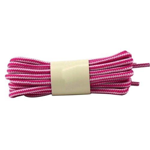 2 Pairs 120cm Round Shoelaces Boot Laces Hiking Shoes Shoelaces #28