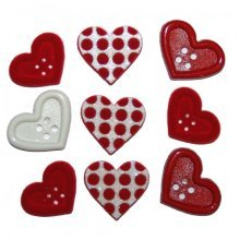 Gift Of Love, Valentines, Dress It Up Buttons, Scrapbooking, craft