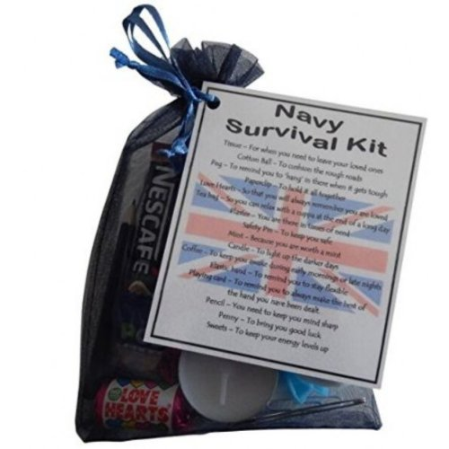 Navy Novelty Survival Kit Gift  -