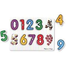 Melissa & Doug See Inside Puzzle - Numbers