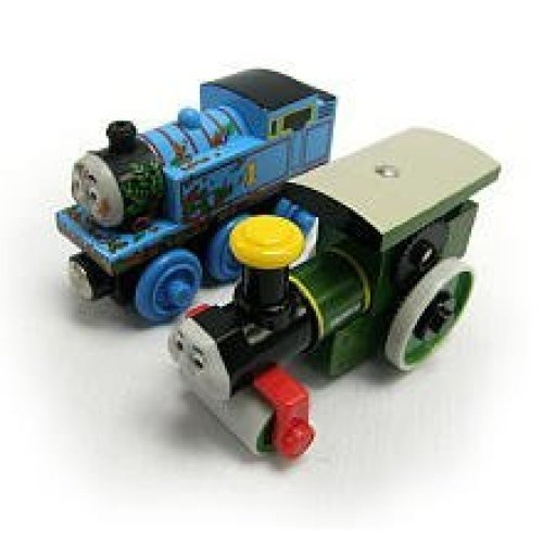 Tomy International Thomas Wooden Railway Muddy Thomas and George