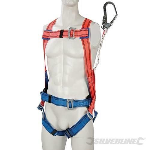 Silverline Restraint Kit Harness & Lanyard