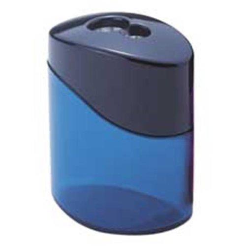 Staedtler STD512300SBK MetalPencil Sharpener, 2 Hole, Oval, Blue-Aqua-Pink