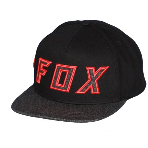 info for 81229 9f128 Fox Head Snapback Cap ~ Posessed black on OnBuy