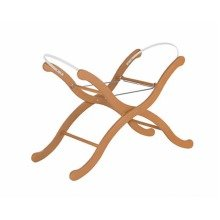 Koodee Solid Oak Folding Moses Basket Stand