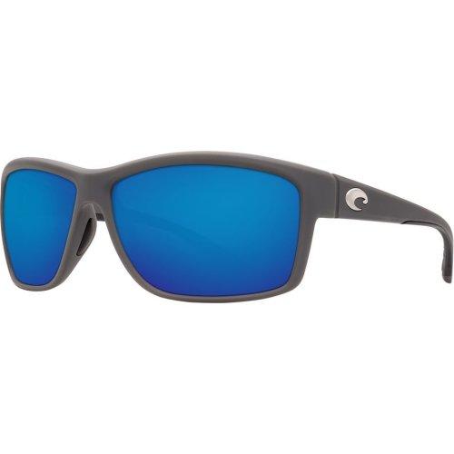 Costa Del Mar Mag Bay Polarized Matte Gray Sunglasses - AA-98-OBMP