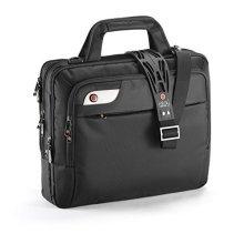 i-stay 15.6-16 Inch Laptop Organiser Bag with Non-slip Shoulder Strap - Black