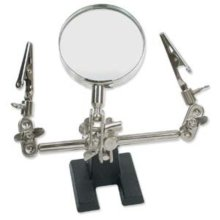 JEWELRY MAKING TOOL MAGNIFIER WITH CLIPS for SCRAPBOOKING & CRAFTS
