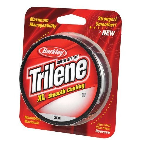 Berkley Trilene XL Smooth Casting Monofilament Service Spools 330 YD 8 Pound Clear