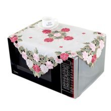 European Style Embroidered Microwave Oven Cover Microwave Protector, I