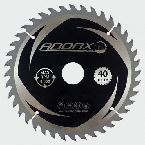 Addax C2503040 TCT Circular Saw Blade 250 x 30 x 40T
