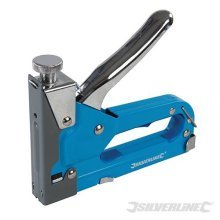 Silverline 101332 3 in 1 Staple & Nail Gun Cable Remover Tacker DIY Tool