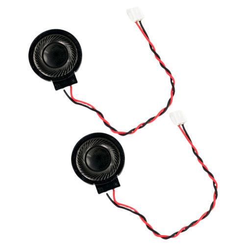 Replacement left & right internal speaker set for Nintendo Wii U Gamepad ZedLabz