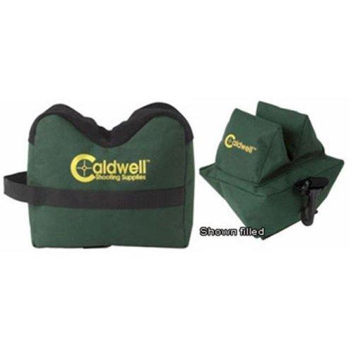 Caldwell 248-885 Deadshot Benchrest Bag Set - Fort and Rear Unfilled
