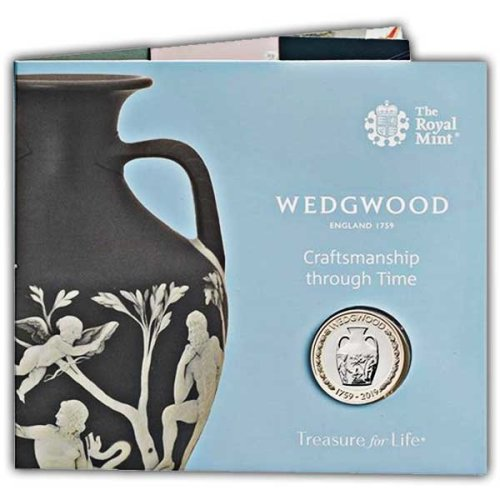 Wedgwood 2019 UK £2 Brilliant Uncirculated Coin