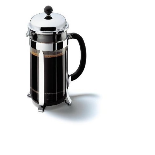 Bodum Chambord Coffee Maker - Stainless Steel - 8 Cup 1Lt