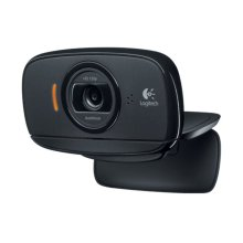Logitech B525 HD Webcam - Black - Simple plug-and-play set-up