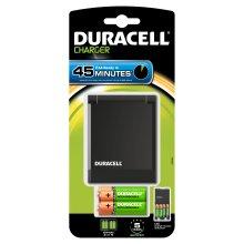 Duracell CEF27+2xAA+2xAAA Indoor battery charger Black