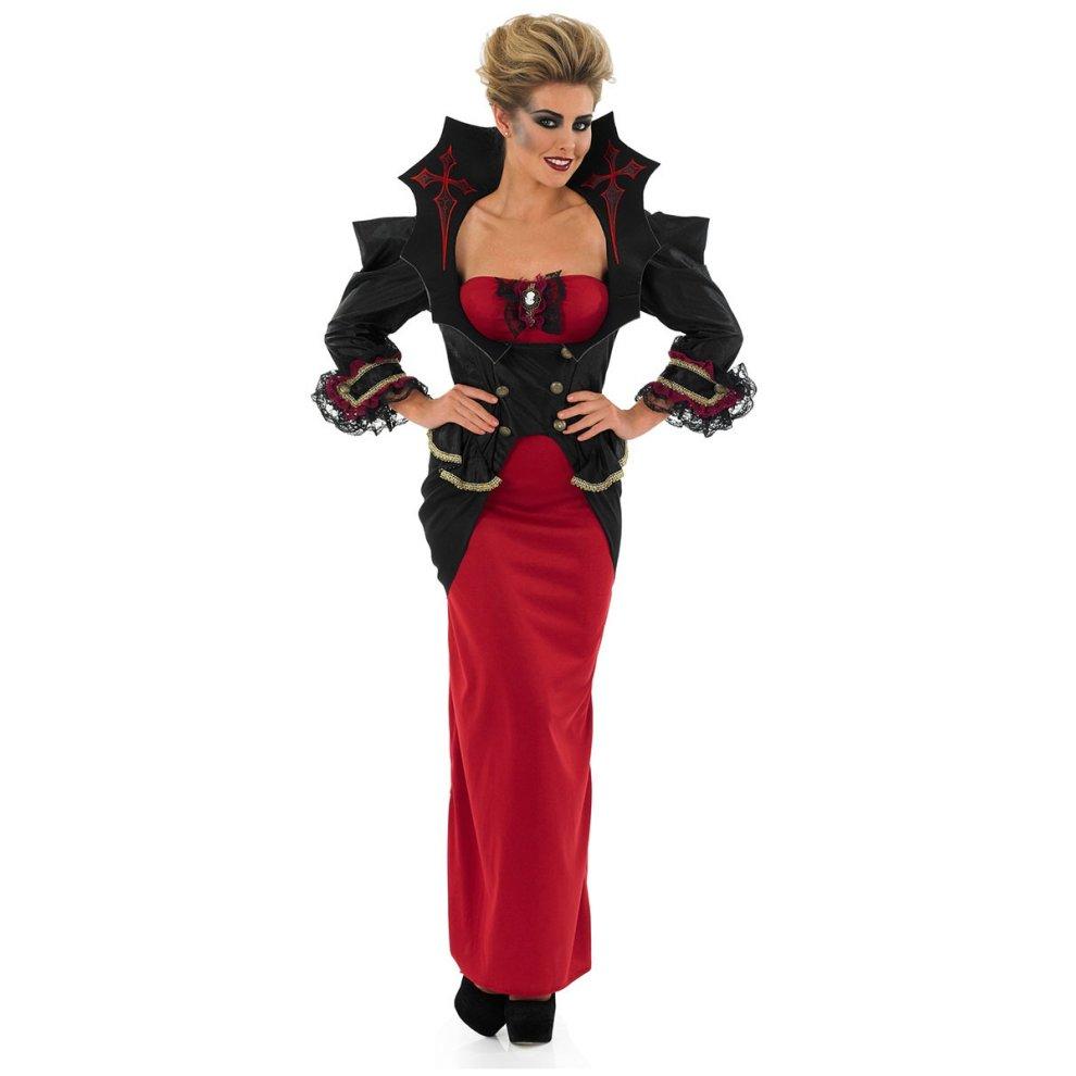 Vampiress Halloween Plus Size Fancydress