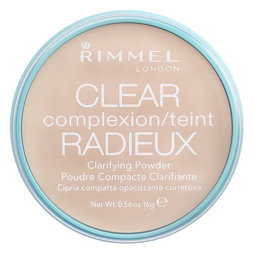 Rimmel London Clear Complexion Clarifying Powder, Transparent 16 g NEW